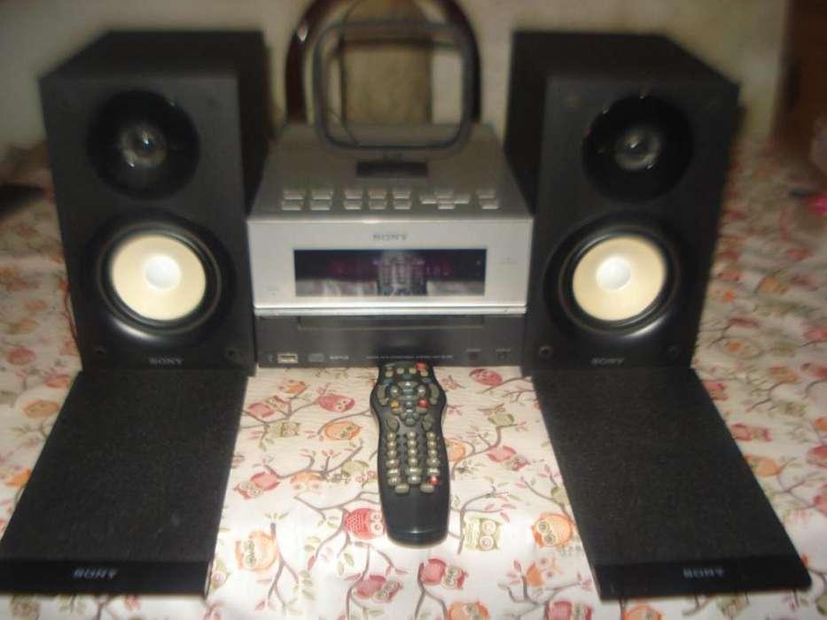 Microcomponente Sony Hcd Bx30r Usb Compacto Exc Sonido!!