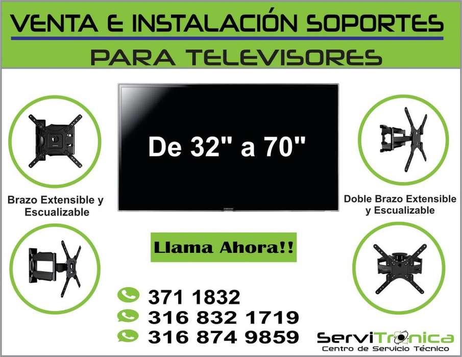 SOPORTES PARA TELEVISORES VENTA E INSTALACIÓN