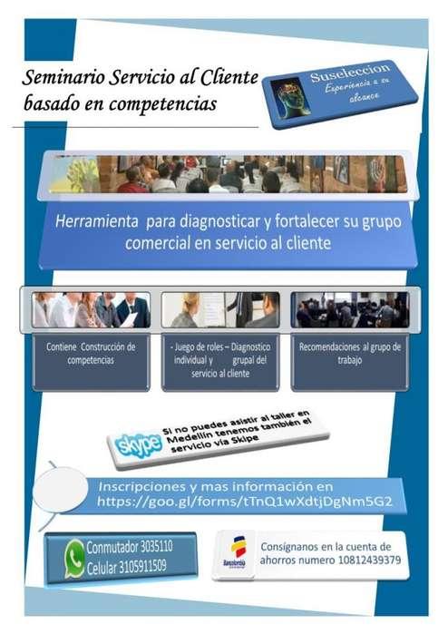 Seminario servicio al cliente basado en competencias