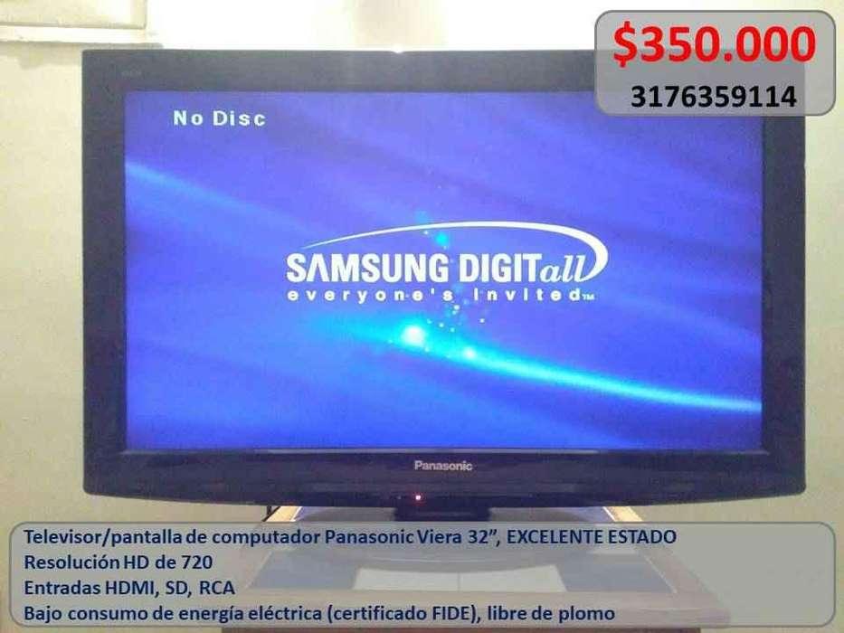 Negociable Televisor Hd Panasonic Viera Plasma