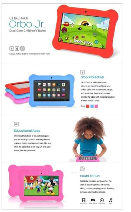 Tablet para Niños -