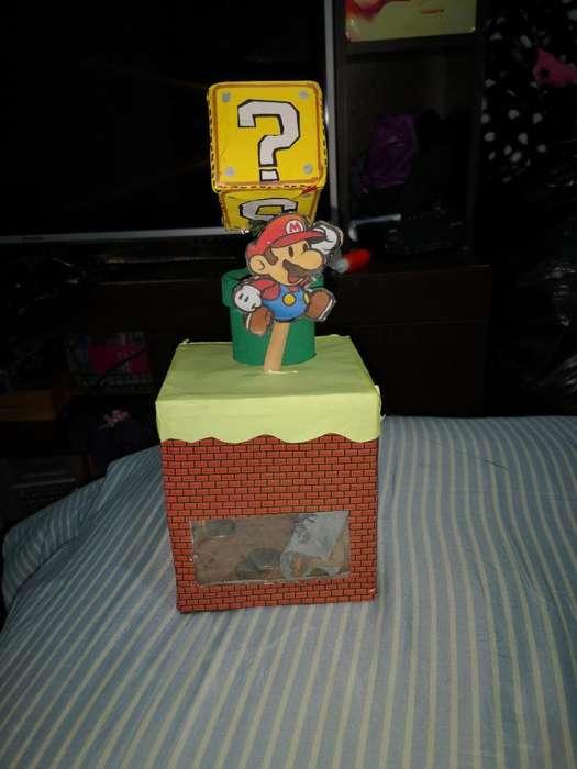 Alcancía Mario Bros Mecanica