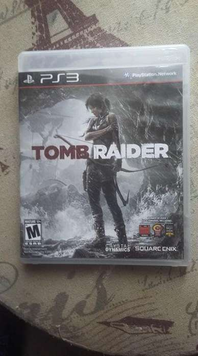 Disco Juego de ps3 play station 3 Tomb Raider