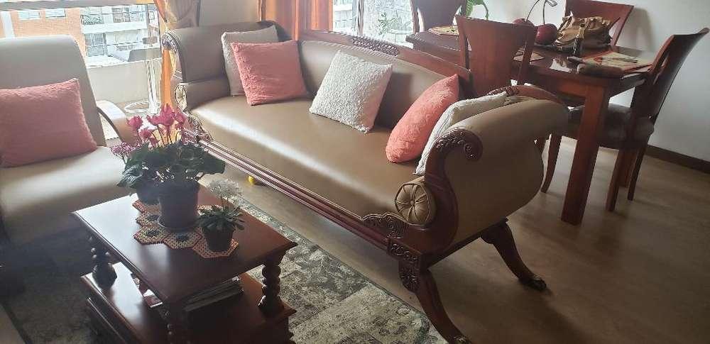 Hermosos Muebles de Sala, Canape Y Silla