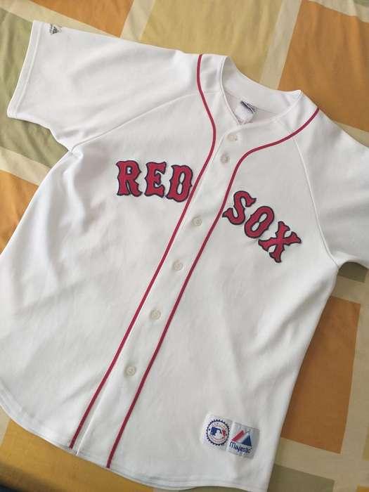 Jersey Mlb Red Sox Talla L