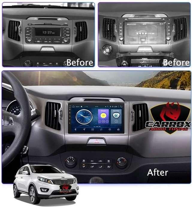 AUTORADIO GPS WIFI KIA SPORTAGE 2011 2015 BLUETOOTH MP3 MP4 AUTORADIO ACEPTAMOS VISA