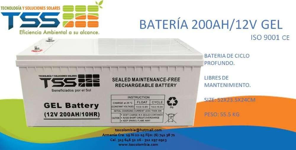 Bateria en Gel 12v