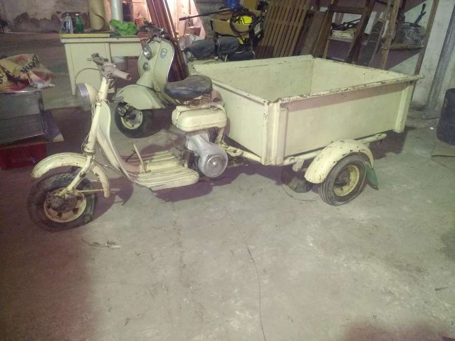 Motocarga Siambreta 125cc Original!!