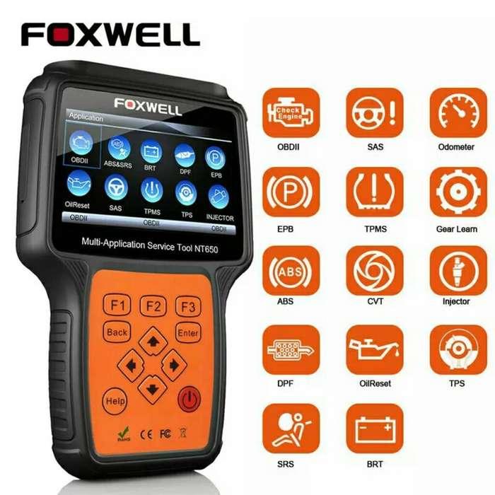 Escaner Automotriz Foxwell Nt650 Obd2