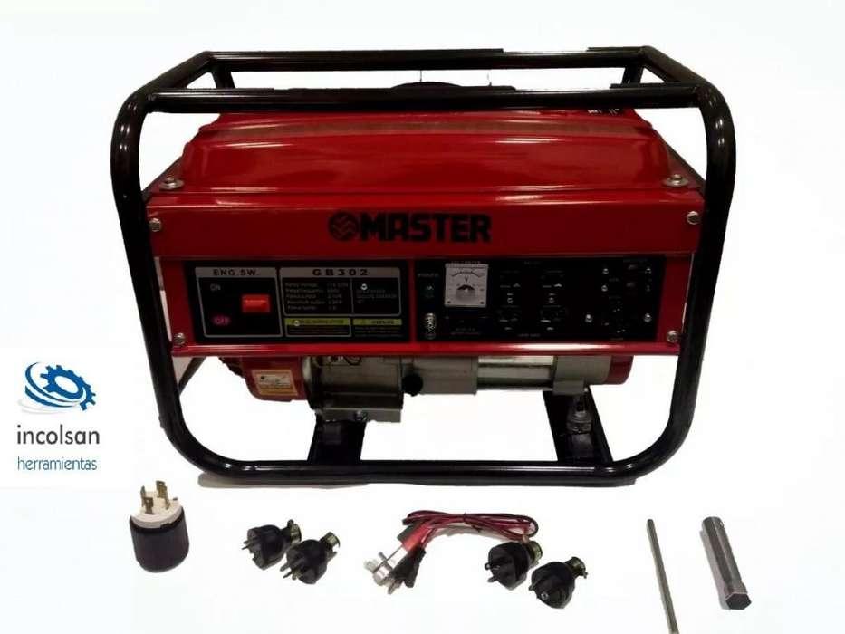 Planta Electrica Master 2500 Watts