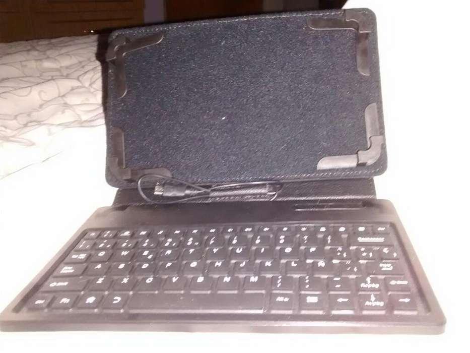 Funda Y Teclado para Tablet