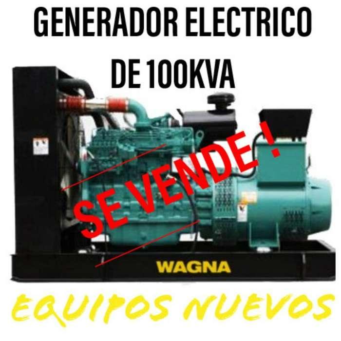Genrador Electrico de 100 Kva de Venta