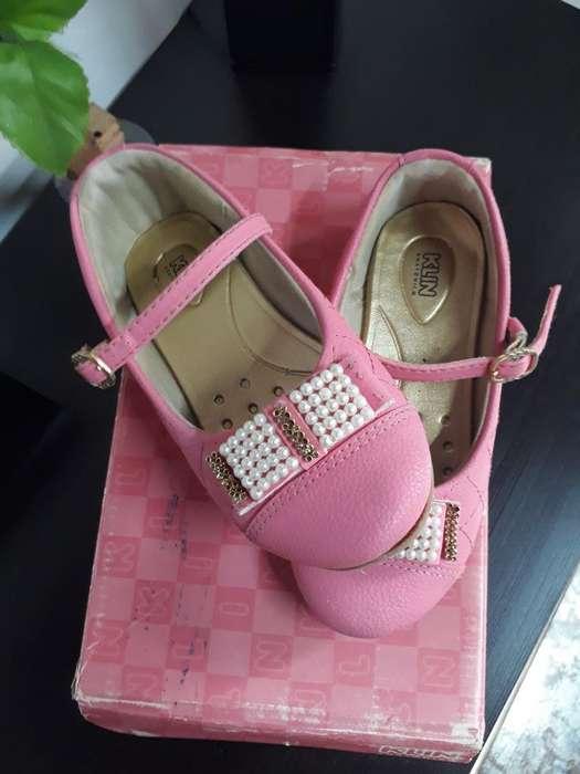 Vendo Hermoso Zapatos Rosado Muy Suaves