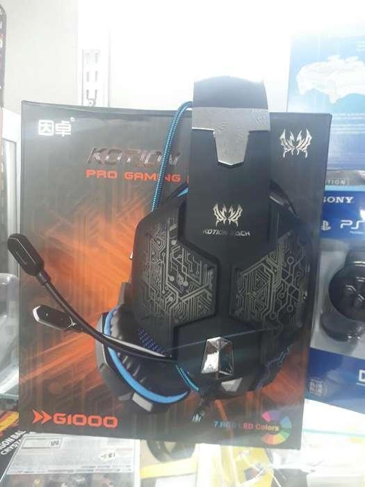 Diadema Gamer Xbox One ,ps4, Pc,