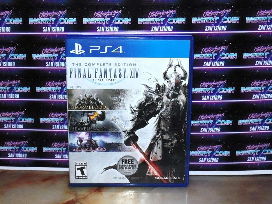 Final Fantasy XIV PS4 Juego Play Station 4