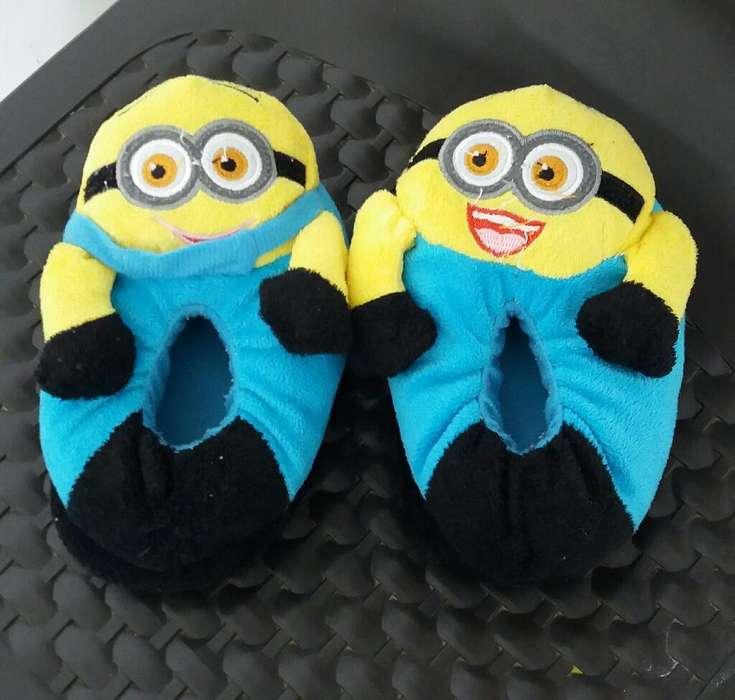 Se Vende Pantuflas de Minnions para Niñ@