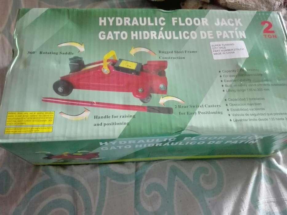 Vendo Gato Hidraulico Nuevo en Caja