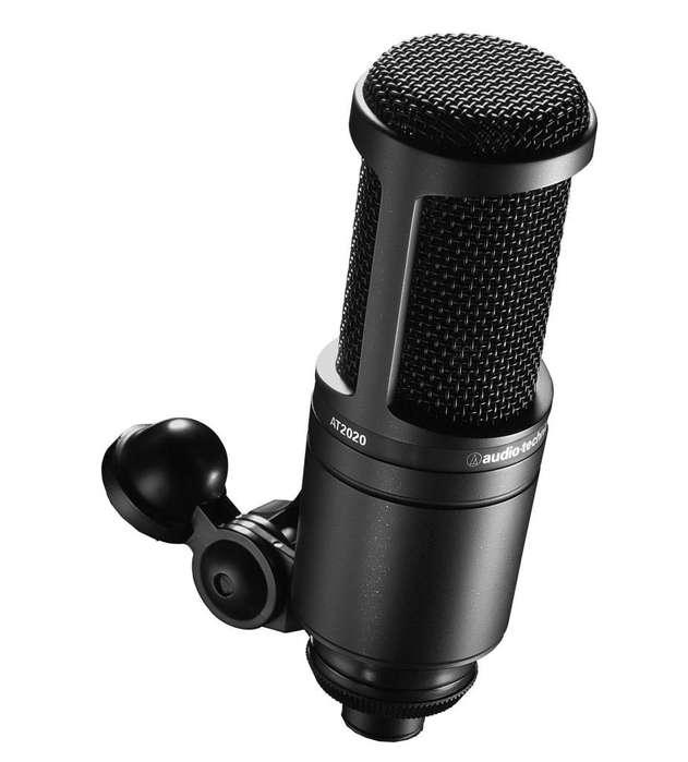 Micrófono Auduo Tecnica 2020 Micro Condensador