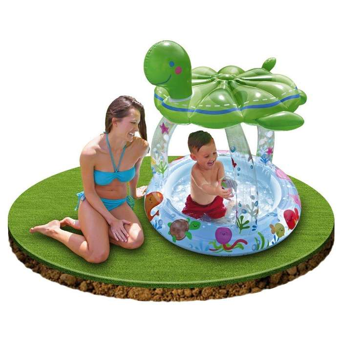 Piscina Techo Tortuga Inflable Intex
