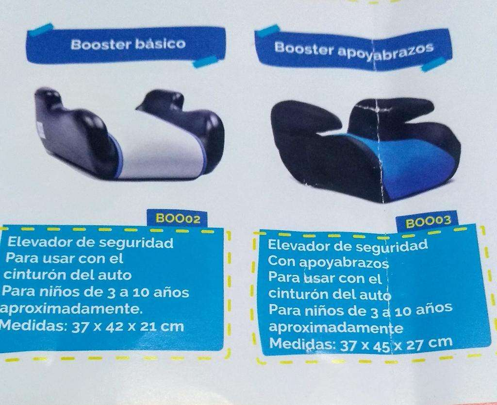 Booster Basico Y Booster Apoyabrazos