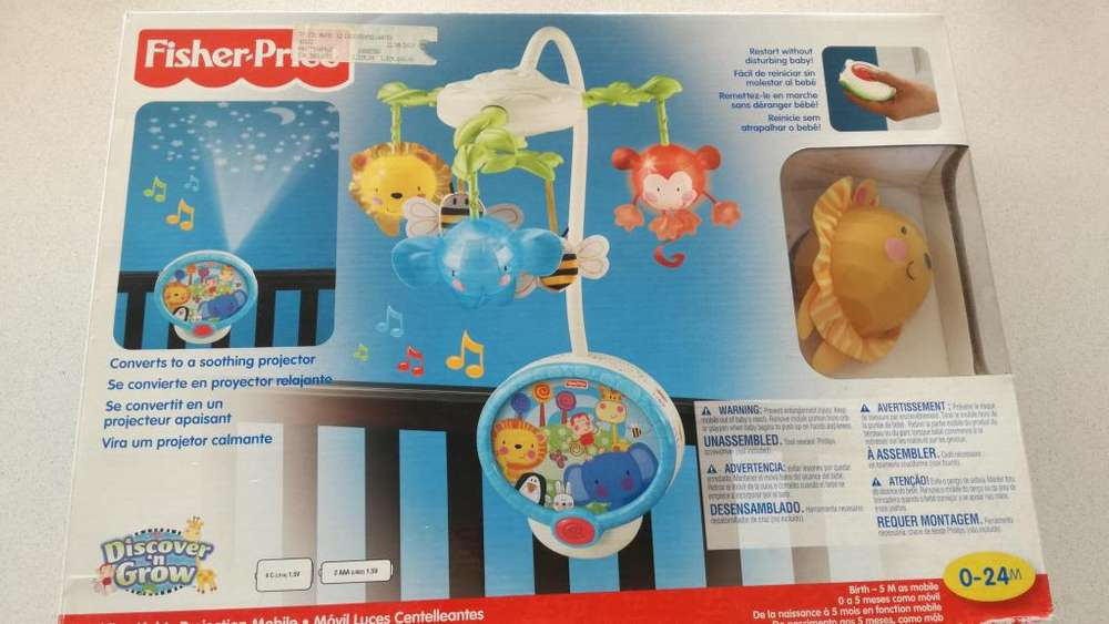 Fisher Price Twinkling Ligh Projection Mobile.cunero/movil.