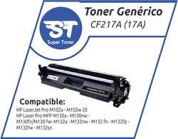 Toner Generico TK3122  CF217A 17A CE255X 55X  35A/36A/85A/78A U4