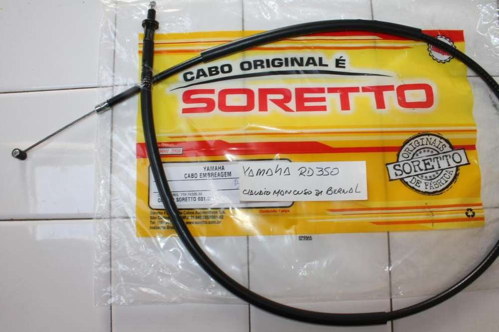 YAMAHA RD 350 CABLE EMBRAGUE COMPLETO