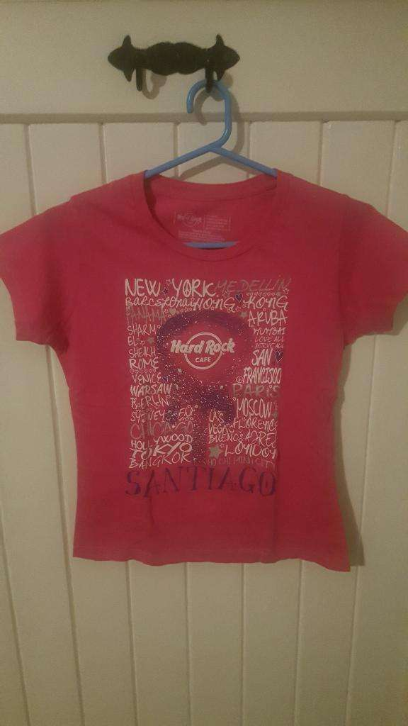 Remera Hard Rock Niña Talle Xl