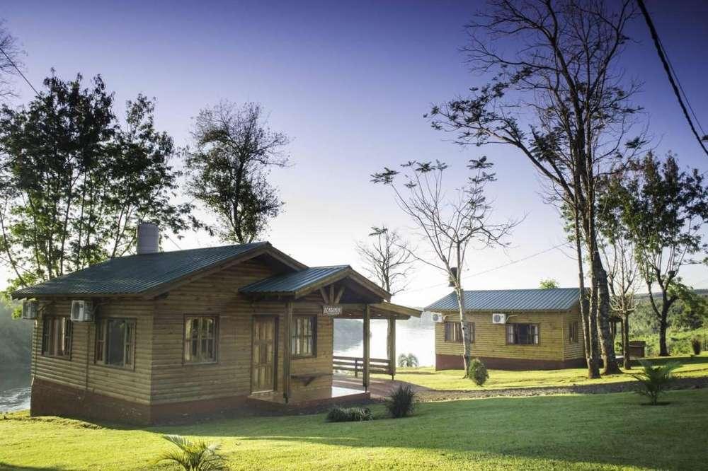 nm30 - Cabaña para 1 a 10 personas con pileta y cochera en Wanda