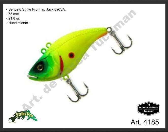 Señuelo Strike Pro Flap Jack 75. Articulos de Pesca Tucuman. 4185