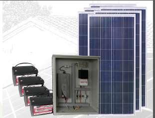PLANTA ENERGÍA SOLAR 900Wp PS900-24M600-1500M