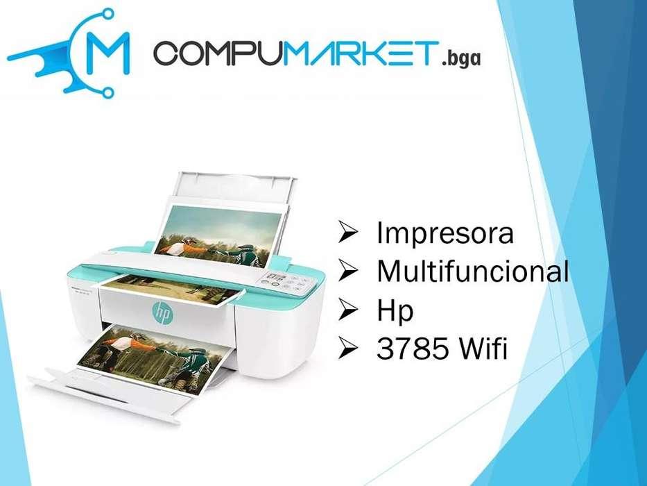 Impresora Multifuncional Hp 3785 Wifi - Inalámbrica