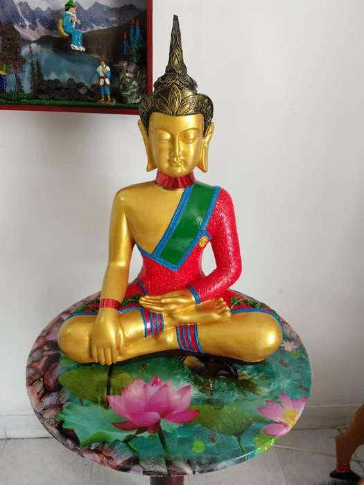 Vendo Cambio Hermoso Buda 65 Cms