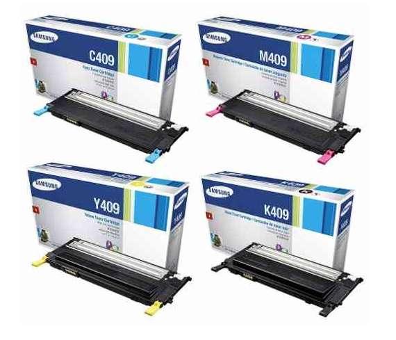 Tóner Laser Samsung 409S 409Y 409M 409C / CPL/310/315