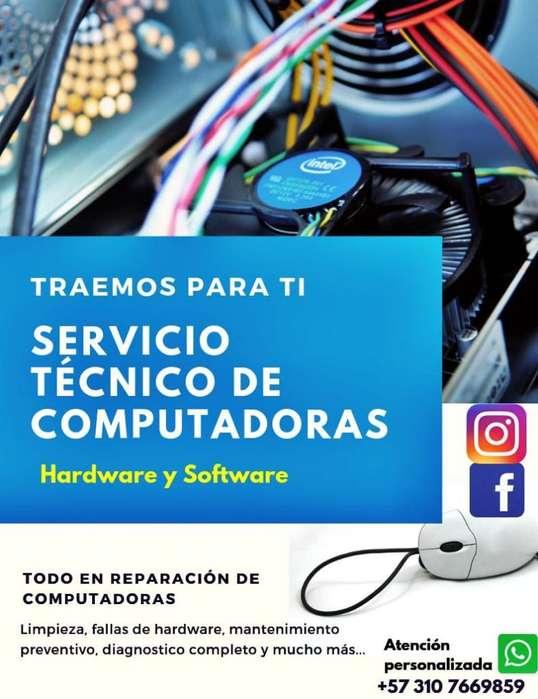 Se Hace Servicio Tecnico Computadores.