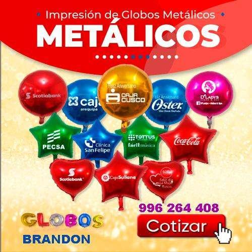 metalicos globos publicitarios