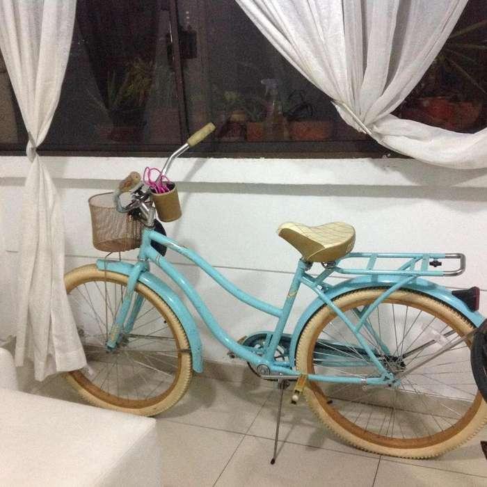 Vendo bicicleta clásica marca Nel Lusso