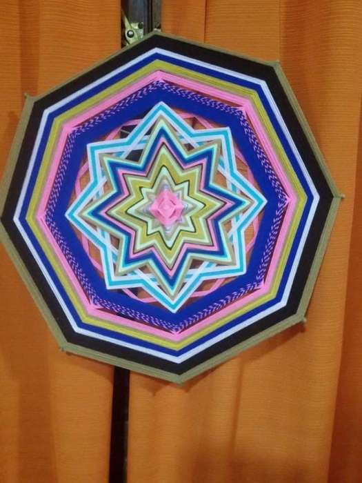 Mandalas Tejidas Arte en Hilado