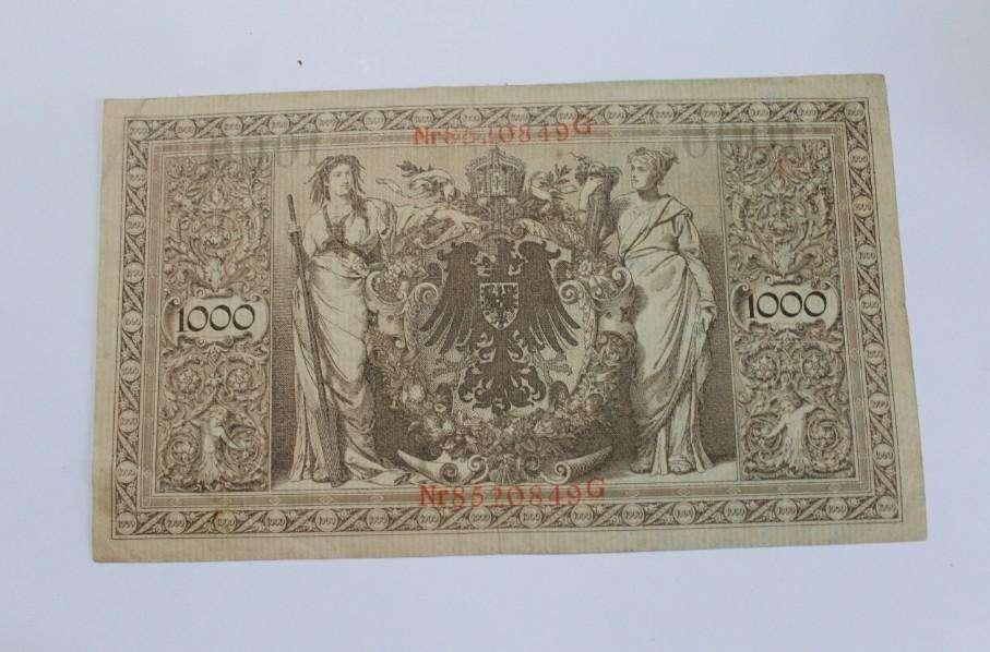 Billete de 1000 marcos alemanes de 1910