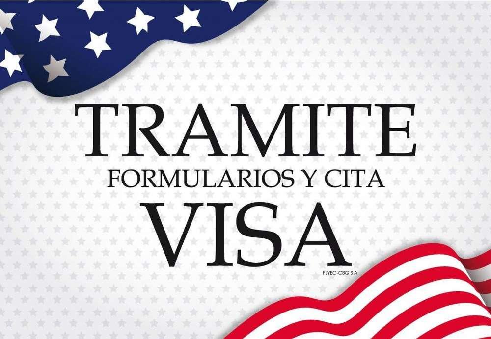 Solicita tu Visa Americana para Turismo
