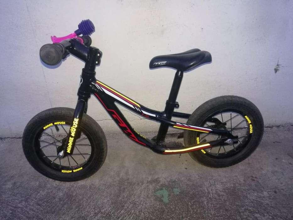 bicicleta sin pesales para niño