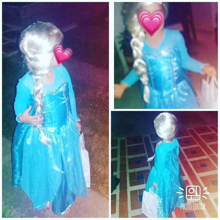 Disfraz Elsa Niña.