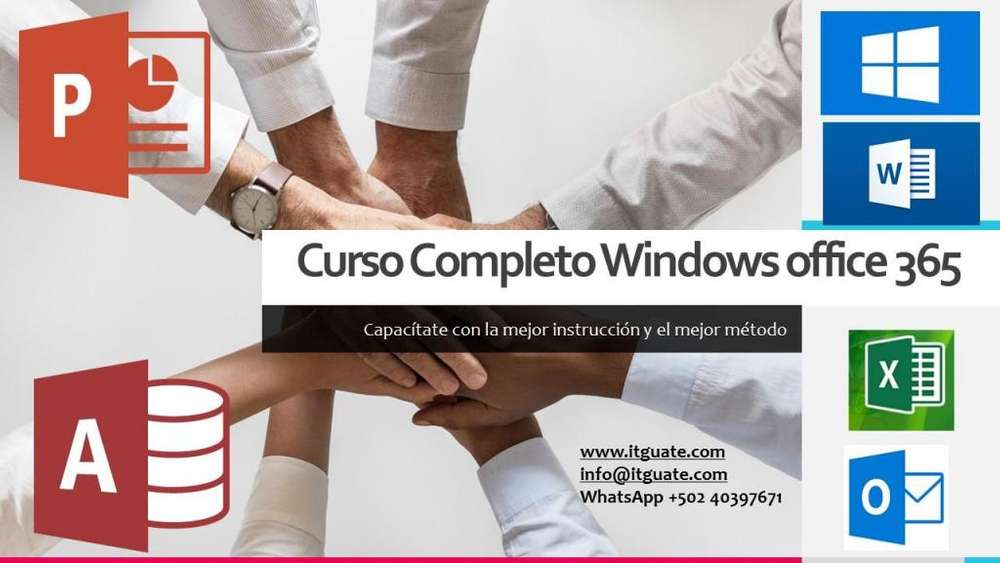 curso windows y office