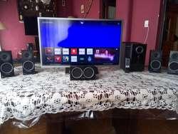 Vendo Combo Smart Tv  Equipo Sorround