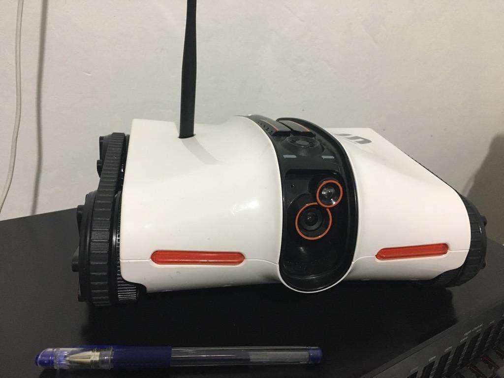Robot Camara con Orugas Espia para iPad