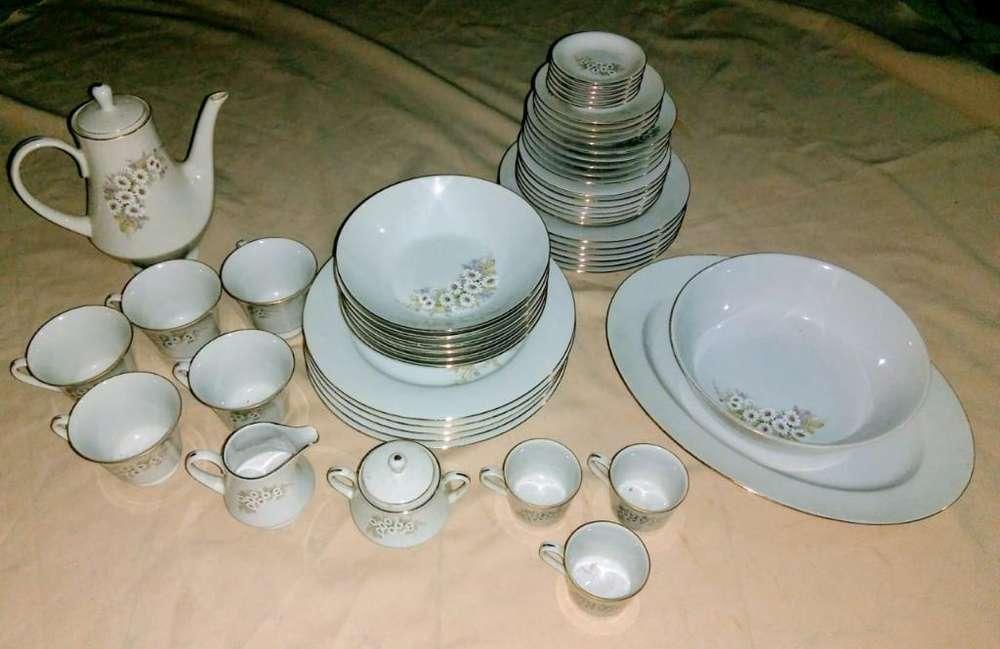 Vajilla Diamante de Porcelana
