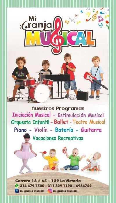 CLASES DE INICIACIÓN MUSICAL