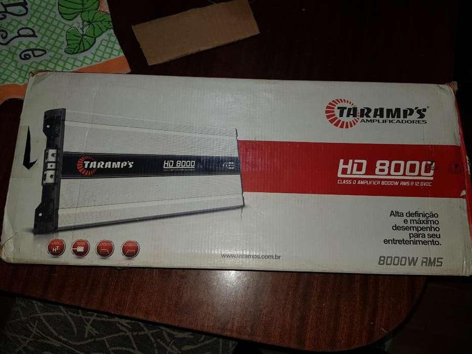 Potencia Taramps Hd8000