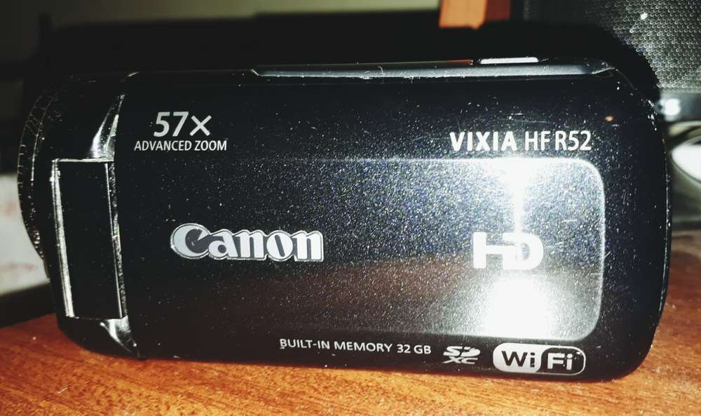 Videocamara Full Hd Modelo Canon Vixia