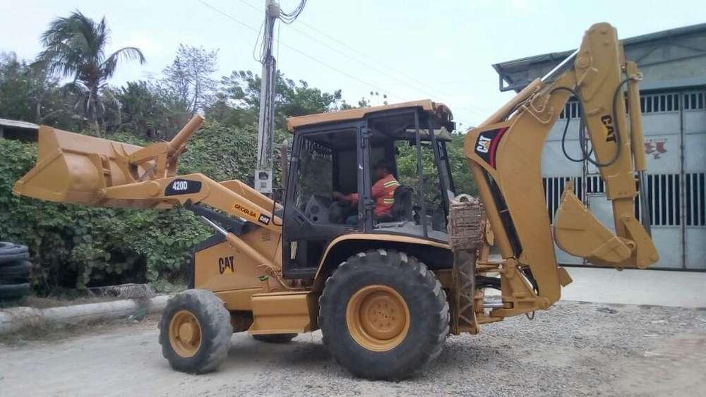 420 D Excavadora Caterpillar Maquinaria